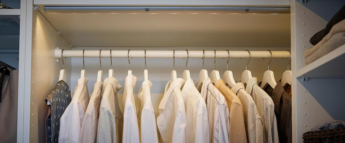 komplement clothes rail white 39 3 8