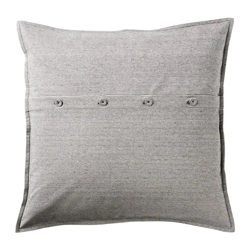 KRISTIANNE Cushion cover IKEA The decorative, fabric-covered buttons make it easy to remove the cushion cover.