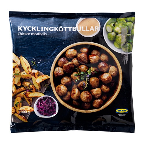 Image result for ikea chicken meatballs gluten free