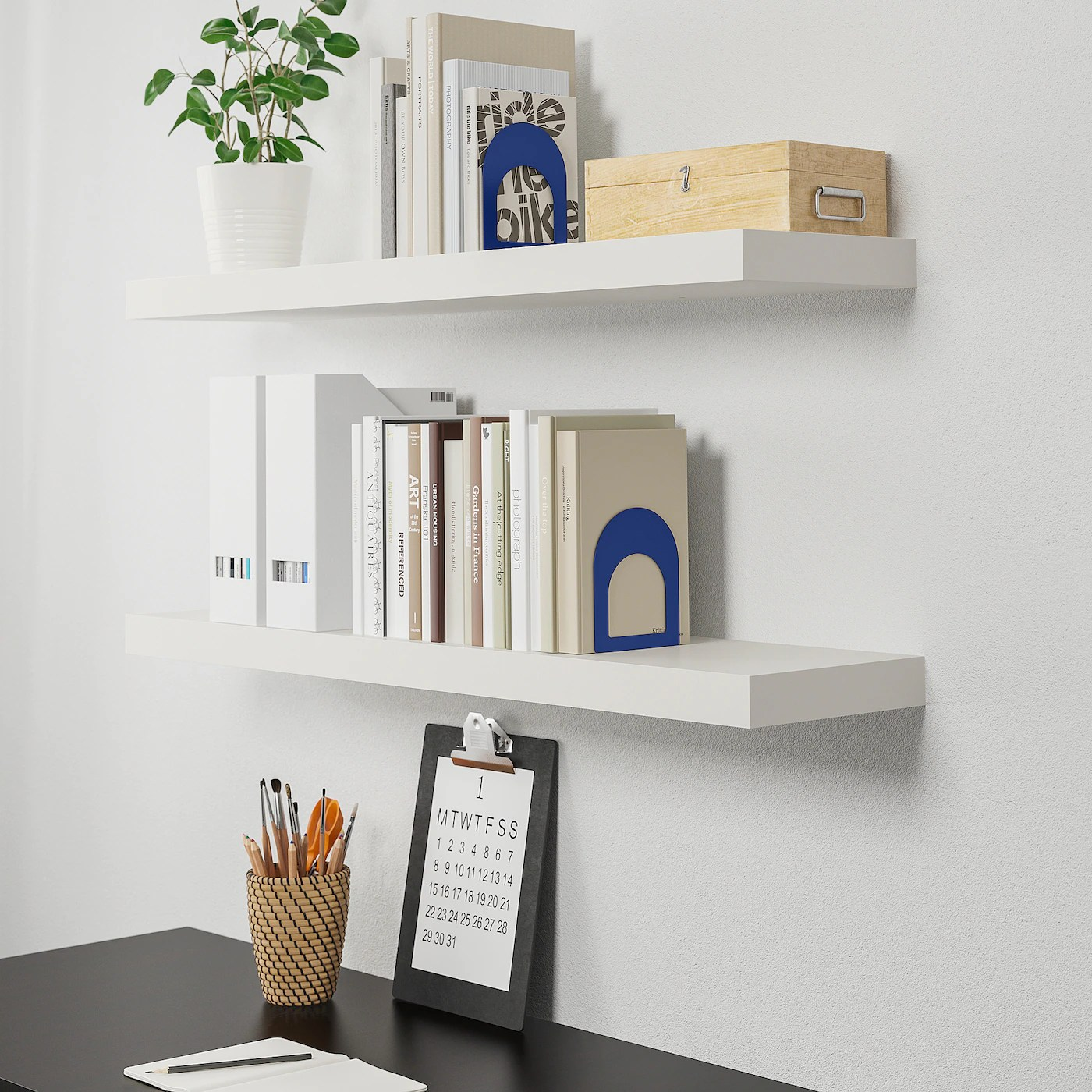 Lack Wall Shelf White 43 1 4x10 1 4 Ikea
