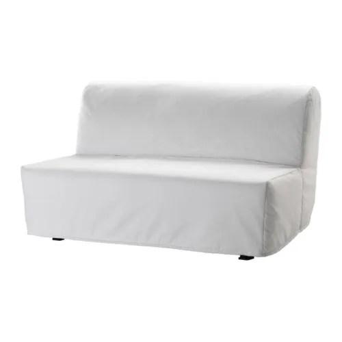 sleeper chair big man recliner covers lycksele lovas sofa ransta white ikea
