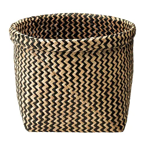 MAGGA Basket IKEA Each basket is woven by hand and is therefore unique.