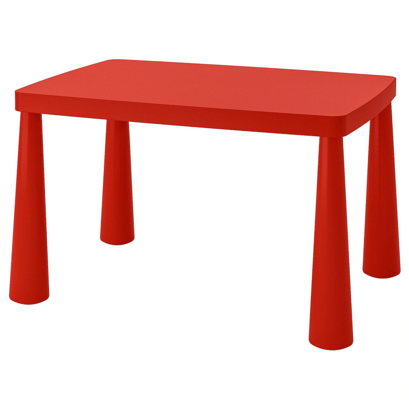 Mammut Children S Table Indoor Outdoor Red 30 3 8x21 5 8 Ikea