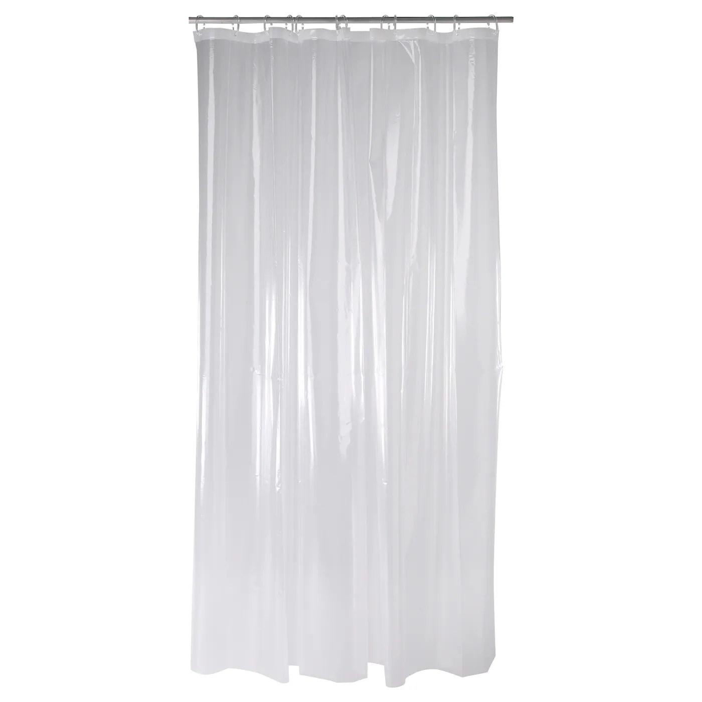 nackten shower curtain clear 71x71