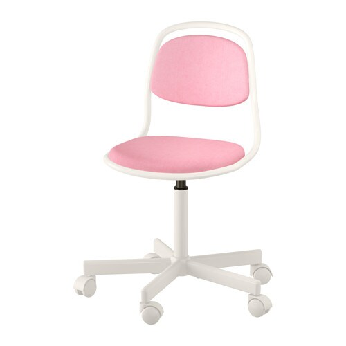 desk chair pink zero gravity recliner singapore orfjall child s ikea
