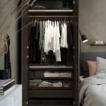 Pax Wardrobe Frame Black Brown 39 3 8x22 7 8x92 7 8 Ikea