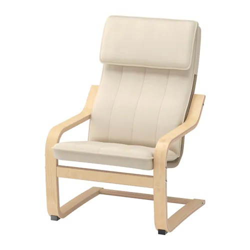 ikea toddler chair office chairs paramus nj poang children s armchair birch veneer almas natural