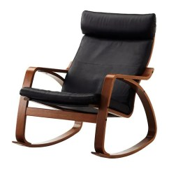 Wood Rocking Chair Styles Alite Monarch Canada Poang Glose Black Ikea