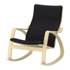 Black Rocking Chairs Tub Images Poang Chair Knisa Ikea