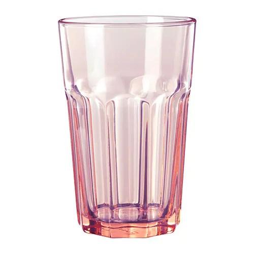 pokal glass pink