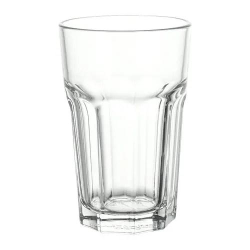 pokal glass clear glass