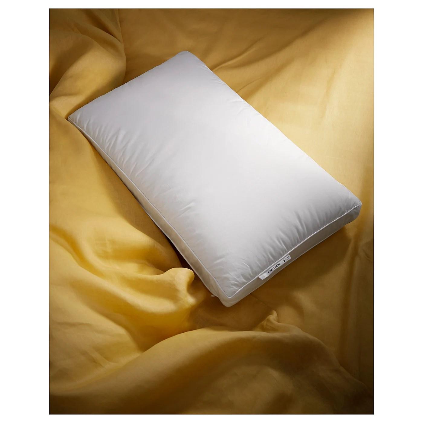 praktvadd ergonomic pillow side sleeper queen