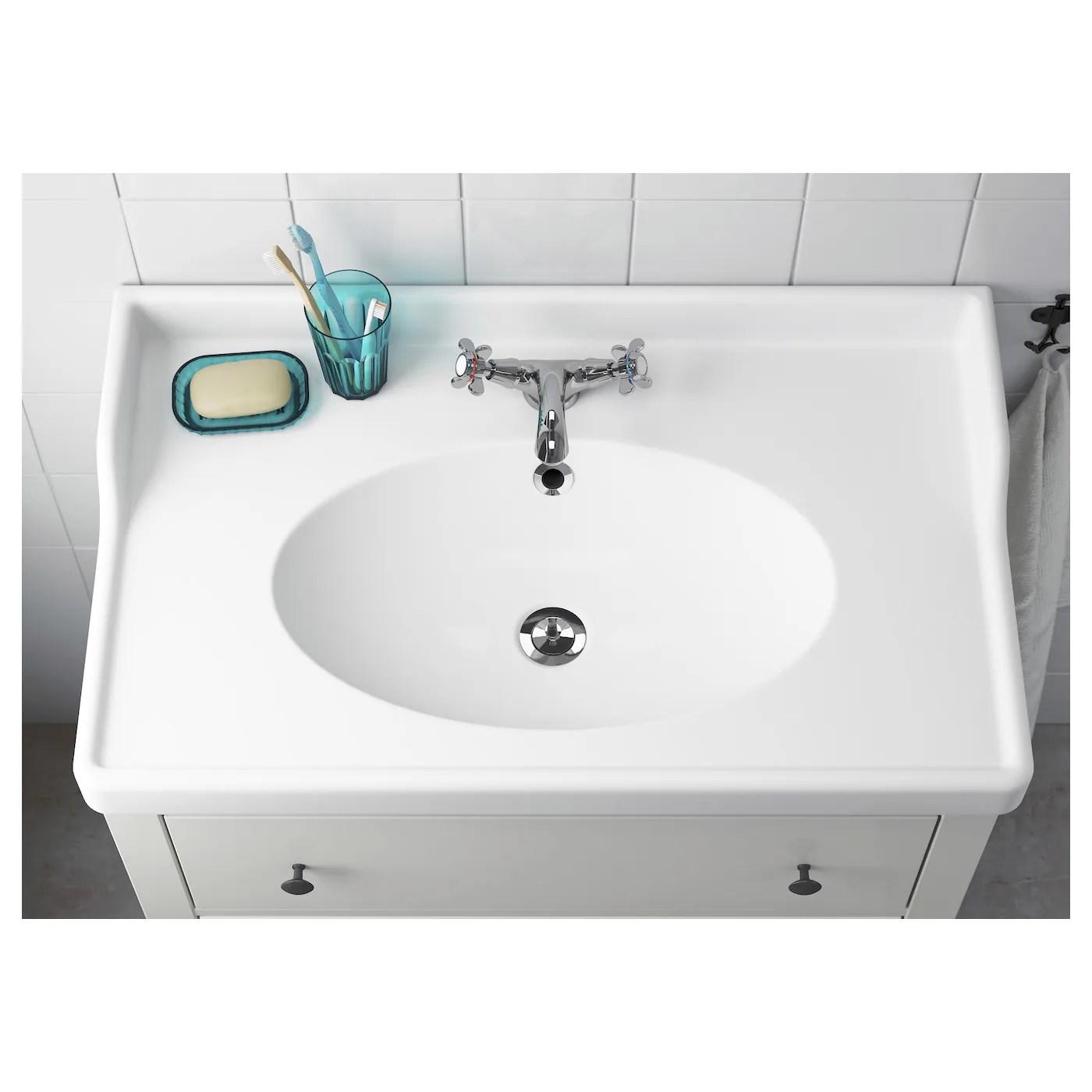 rattviken sink white 32 1 4x19 1 4x2 3 8