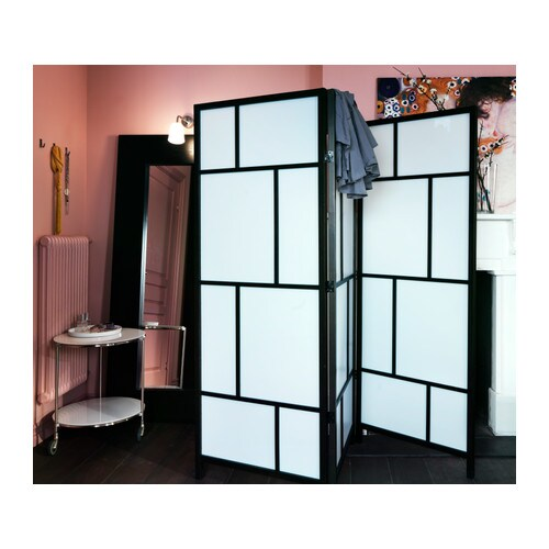 RISÖR Room divider IKEA Made of solid wood, which is a durable and warm natural material. Practical as a room divider or screen.