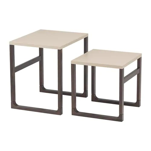RISSNA Nesting tables, set of 2