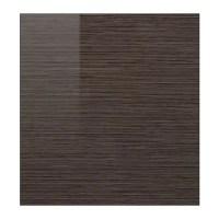 SELSVIKEN Door - patterned high gloss brown - IKEA