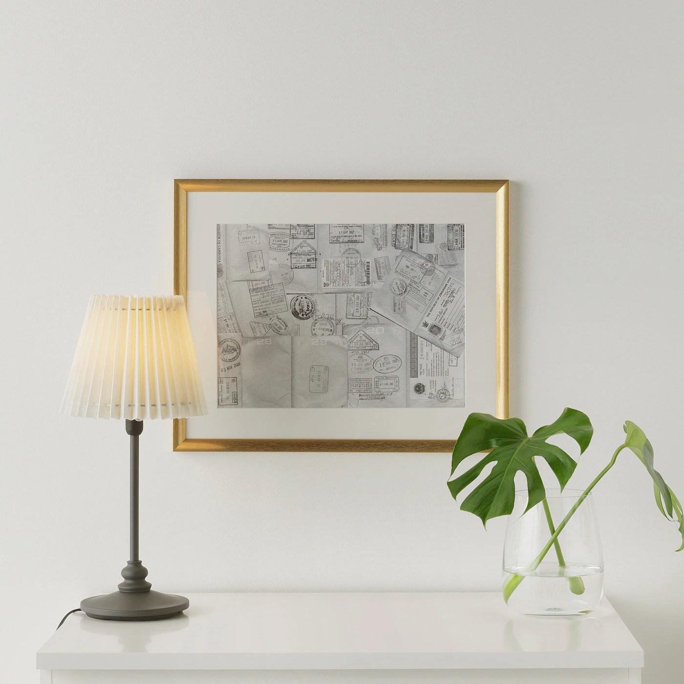 silverhojden frame gold 16x20