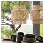 Sinnerlig Pendant Lamp Bamboo Ikea
