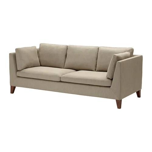 STOCKHOLM Sofa IKEA The cover is easy to keep clean as it is removable and can be dry cleaned.