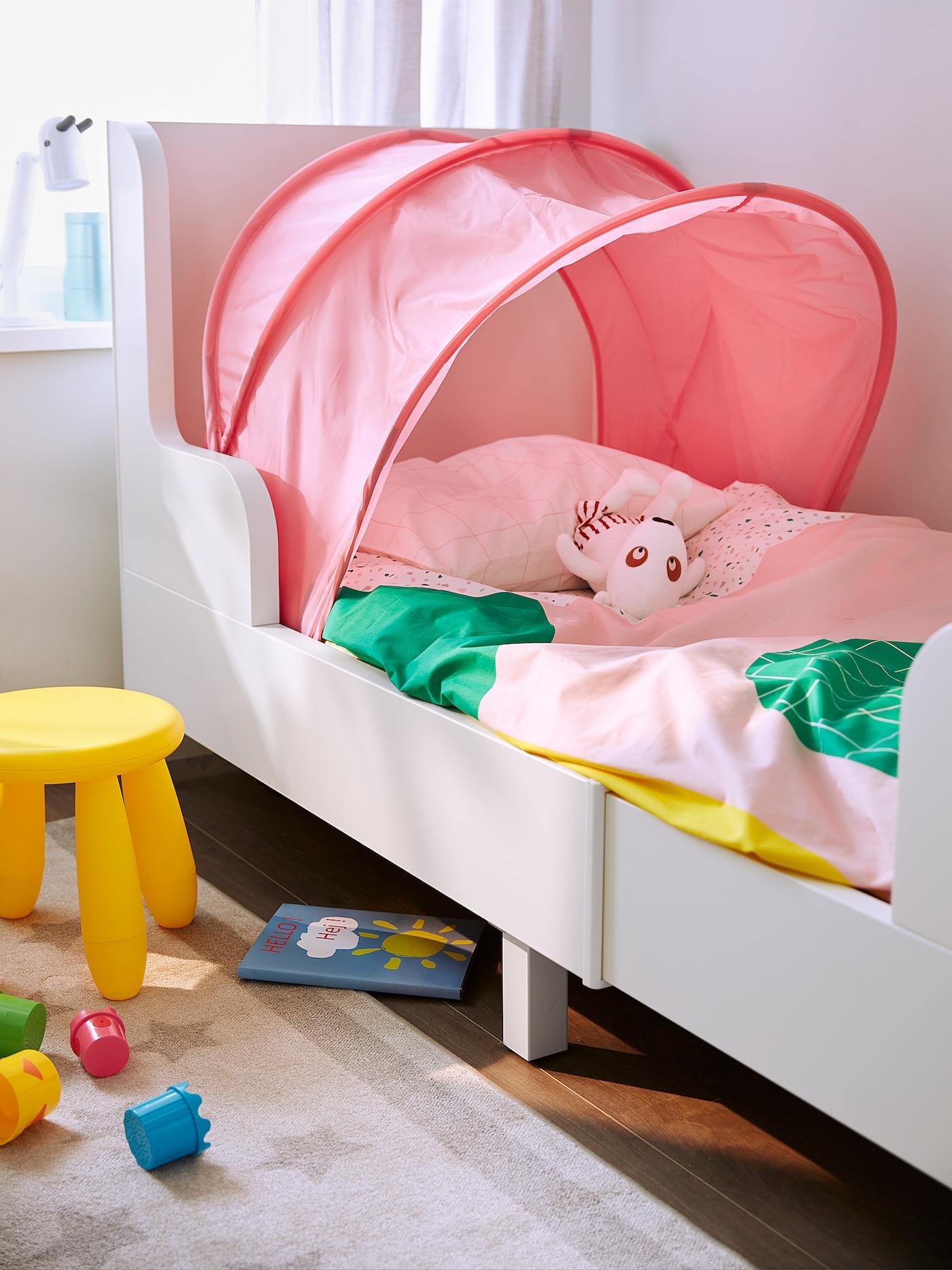 sufflett bed tent pink 70 97