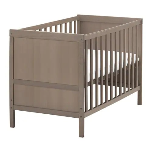 Sundvik Crib Ikea The Bed Base Can Be Placed At Two Diffe Heights Converts Into