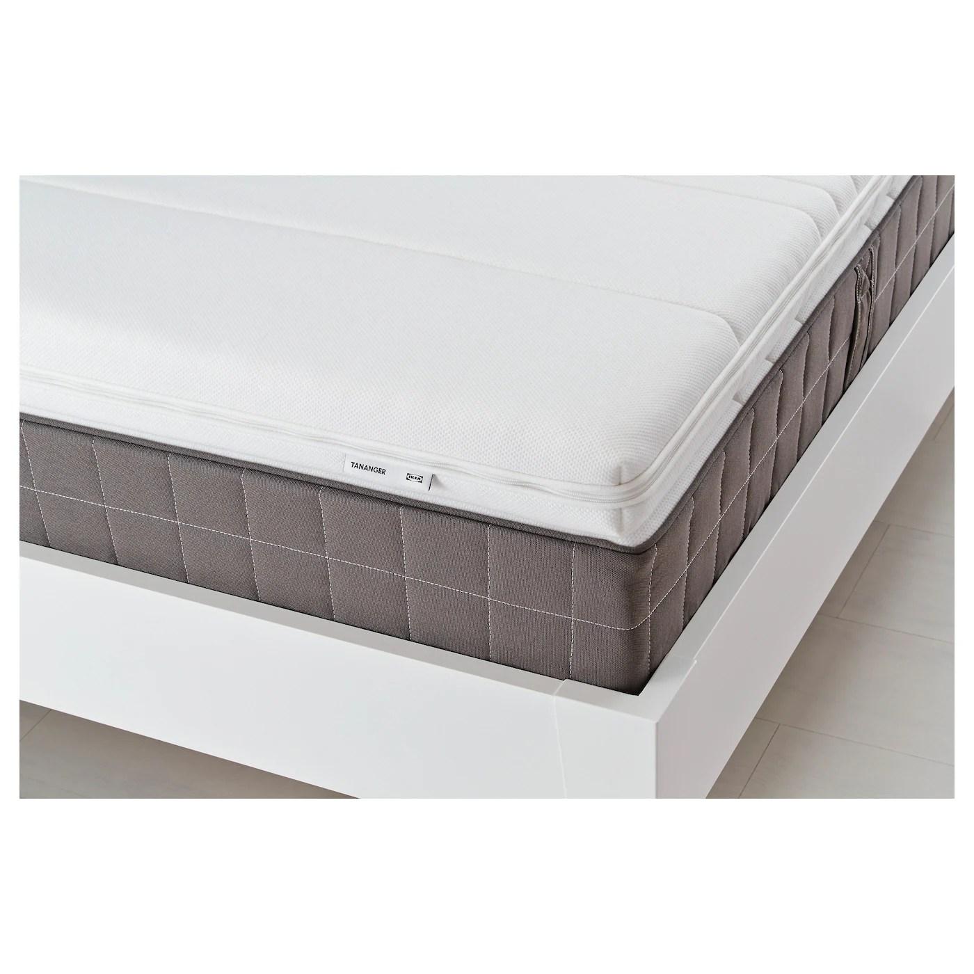 tananger mattress topper white queen