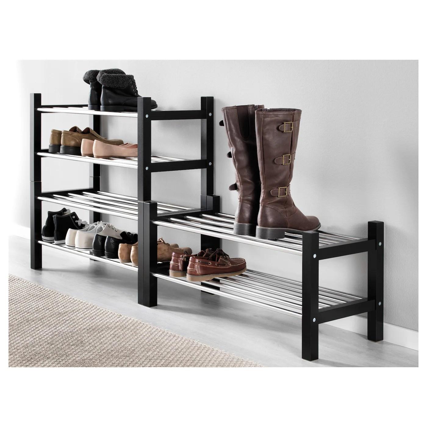 tjusig shoe rack black 31 1 8x12 5 8x14 5 8