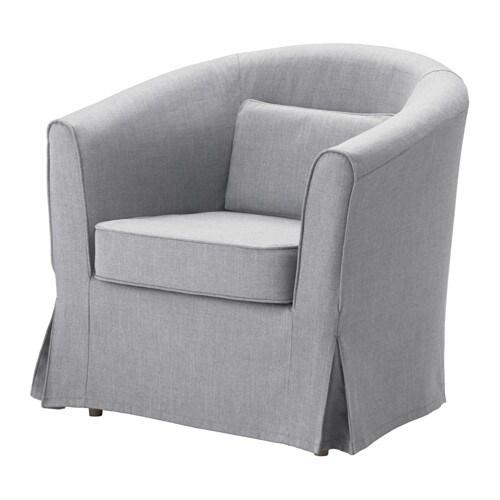 chair covers the range kitchen canada tullsta armchair nordvalla medium gray ikea