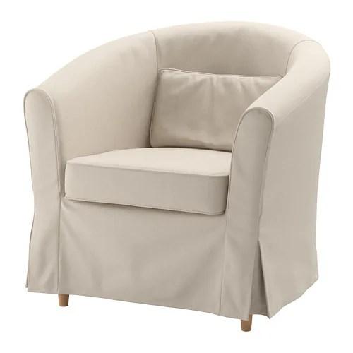 club chair covers handicap beach tullsta cover nordvalla medium gray ikea