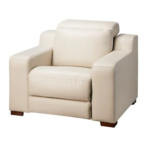 reclining club chair stress chairs uk uttran armchair kimstad off white ikea