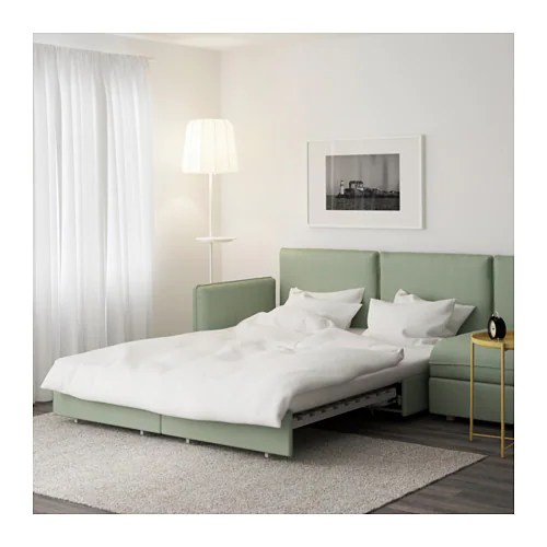 sleeper sofa assembly instructions leather manufacturers in bangalore vallentuna sectional, 4-seat - hillared green ikea