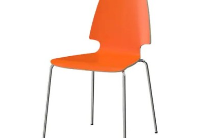 Orange Chairs Ikea
