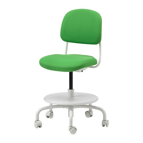 childs desk and chair global furniture task office vimund child s bright green ikea