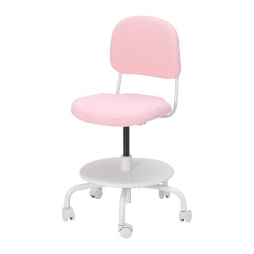 desk chairs ikea doll salon chair vimund child s light pink