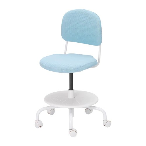 desk chair turquoise office chairs for big and tall vimund child s light ikea