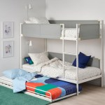 Vitval Bunk Bed Frame With Underbed White Light Gray Twin Ikea