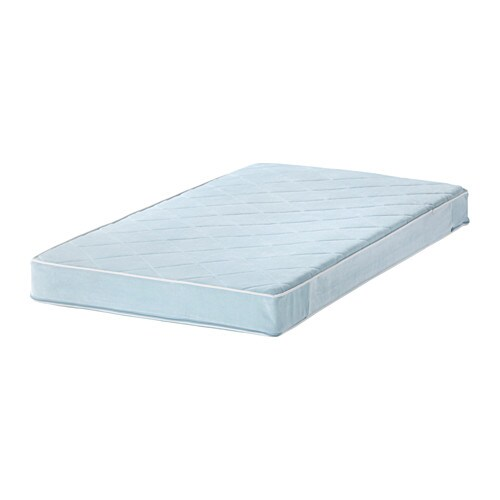 Vyssa Vackert Mattress For Crib Ikea Pocket Spring Gives Precise Support To Your Baby S Body