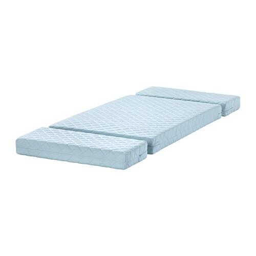 Vyssa Vinka Mattress For Extendable Bed Ikea Bonnell Springs Provide Great Comfort And Allows Air Circulation