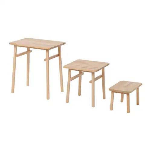 YPPERLIG Nesting tables, set of 3