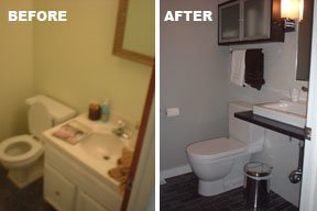 From Drab To Fab Bathroom Remodel Ikea Hackers