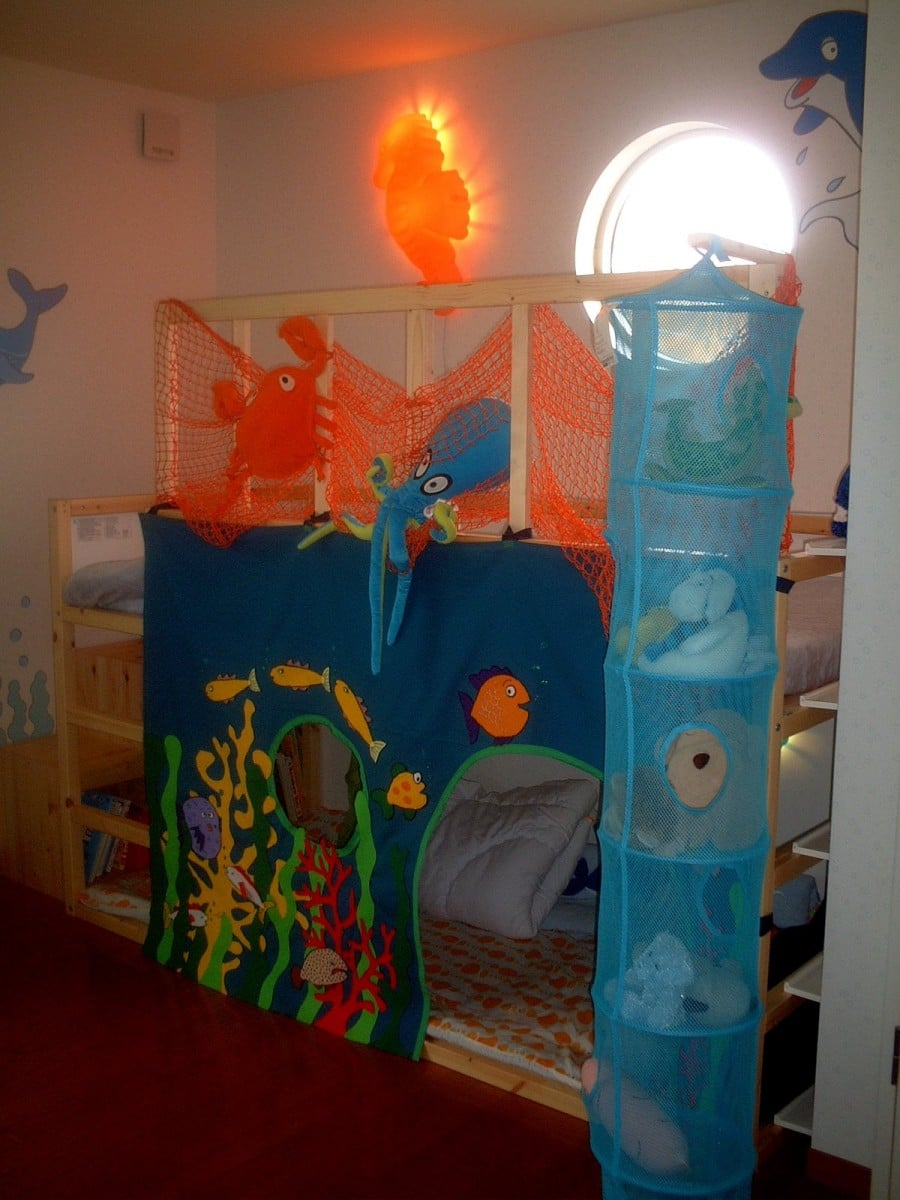 chair rail upside down kiddies covers for hire boring room your kid? here's what jo did! - ikea hackers