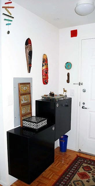 living room and kitchen divider design target clocks udden hacked as his hers shoe rack - ikea hackers ...