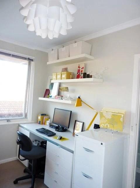 Alicias storeitall desk  IKEA Hackers  IKEA Hackers