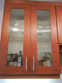 Custom reed glass in Adel cabinets - IKEA Hackers - IKEA ...