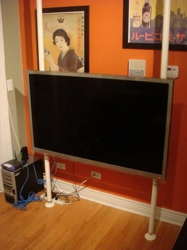 Stolmen Floating TV Stand So Simple Anybody Can Do It  IKEA Hackers  IKEA Hackers