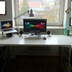Cheapest Living Room Furniture Convert Sunroom To Expedit + Vika Amon Desk Fit My Office Perfectly - Ikea ...