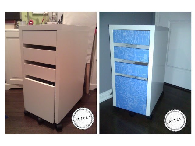 ikea micke cabinet revamp ikea hackers. Black Bedroom Furniture Sets. Home Design Ideas