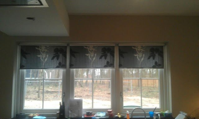 ikea kitchen table top towels target customised blinds to match your curtains - hackers ...