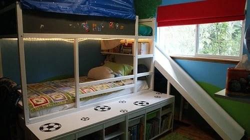 Kura bed with slide  IKEA Hackers  IKEA Hackers