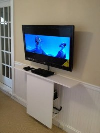 LEKSVIK floating TV stand - IKEA Hackers - IKEA Hackers